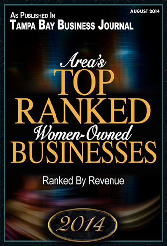 JoTo PR - Top Ranked Women Owned Businesses, Tampa Bay Business Journal, August 2014