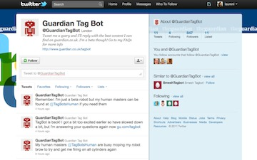 The Guardian Launches Twitter-Based Search Bot