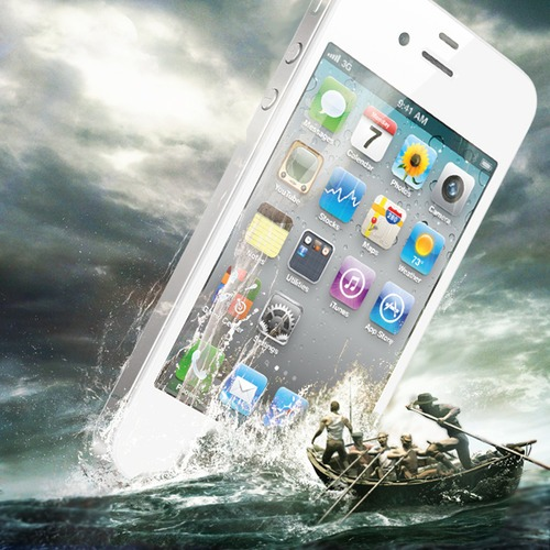 Great White Iphone