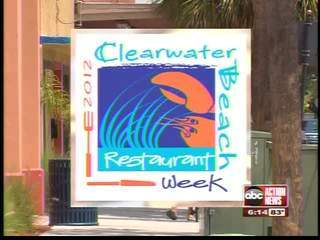 Clearwater Beach Restaurant Week 2012