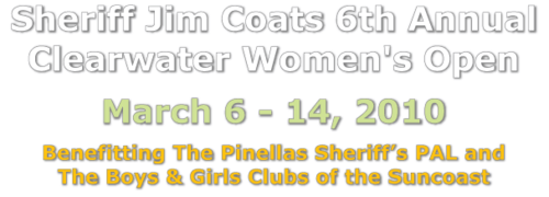 Sheriff Jim Coats 6th Annual Clearwater Women's Open