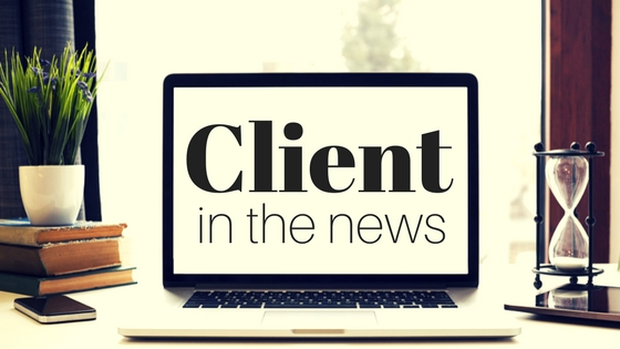 CLIENT IN THE NEWS