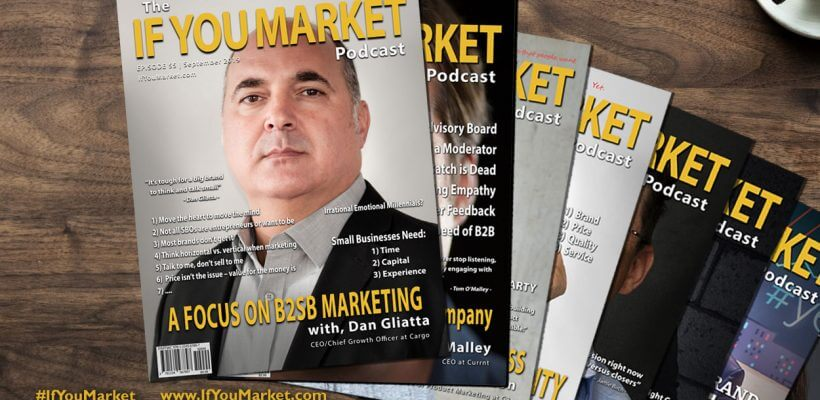 B2SB Marketing, with Dan Gliatta